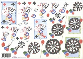 Mireille: Darts & Poker
