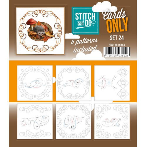 Stitch + Do - Cards Only - set 24