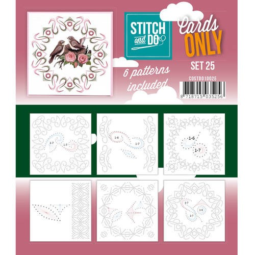Stitch + Do - Cards Only - set 25