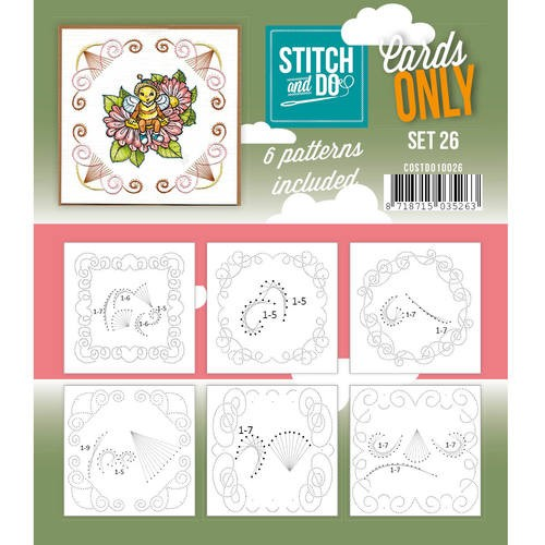 Stitch + Do - Cards Only - set 26