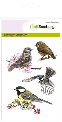 CE: Clear stamp; Vogels