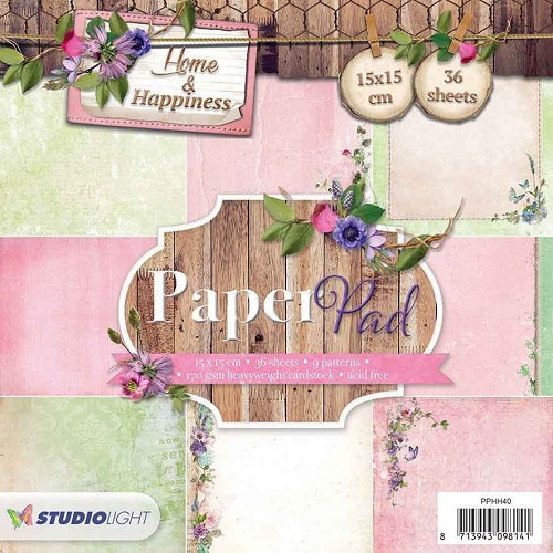 SL: Paper Pad; Home and Happiness