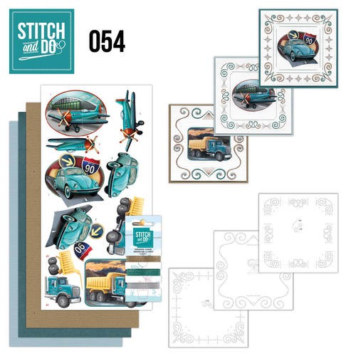 Stitch and Do 54: Vintage Vehicles