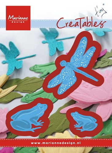 MD: Creatables; Tiny`s Frogs and Dragonfly