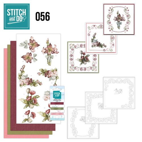 Stitch and Do 56: Fantastic Flowers