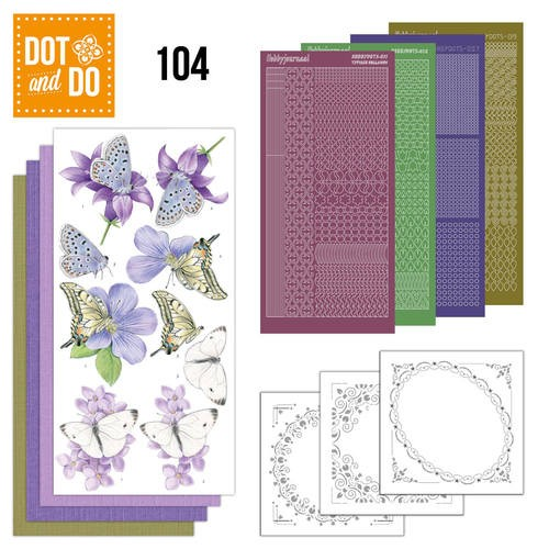 Dot and Do 104: Butterflies