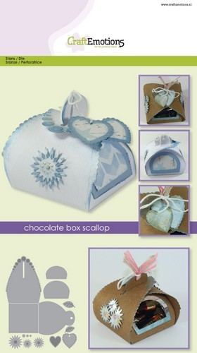 CraftEmotions: Die Chocolate box scallop