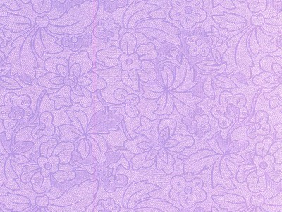 FI: 5 pcs Embossed paper A4; Flower & Leaves, Lilac