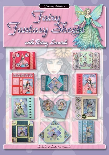 FI: Fairy Fantasy Sheets by Betsy Lurvink