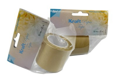 Joy!: Kraft paper tape 50 mm x 10 meter