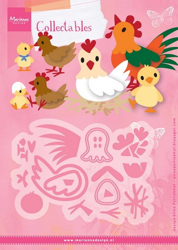 MD: Collectable 1429; Elines Chicken family