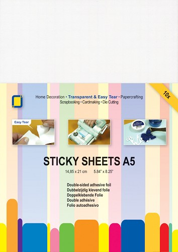 JeJe: 10 x Sticky Sheets A5