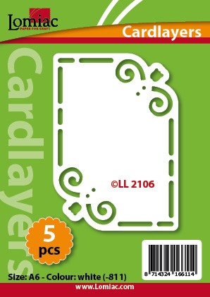 Lomiac: Cardlayers 5 pcs; Ivory