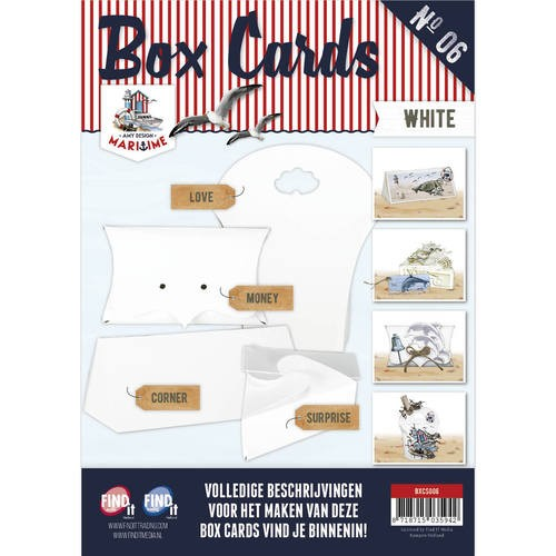 Amy Design: Maritime; Box cards 6