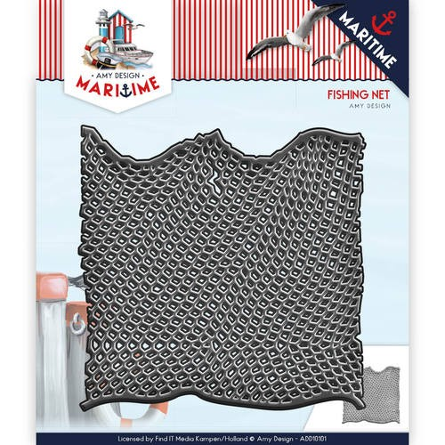 Amy Design: Maritime; Die; Fishing Net