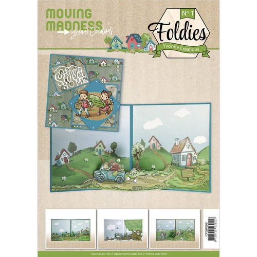 Yvonne Creations: Moving Madness; Foldies
