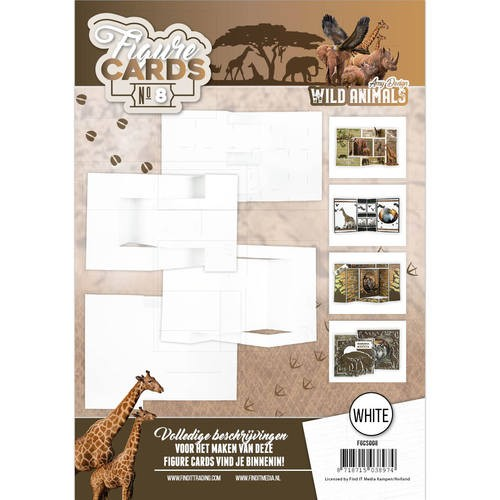 Amy Design: Wild Animals; Figure Cards