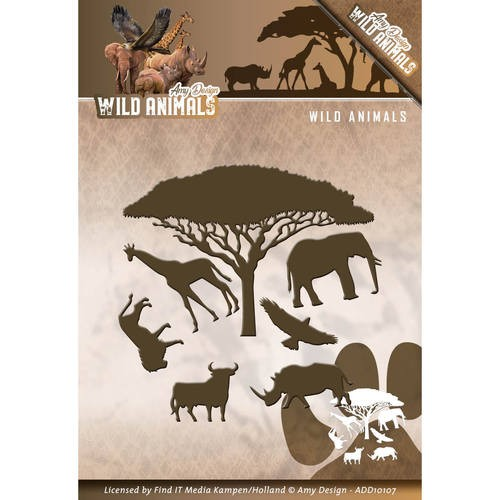 Amy Design: Wild Animals; Die, Wild Animals