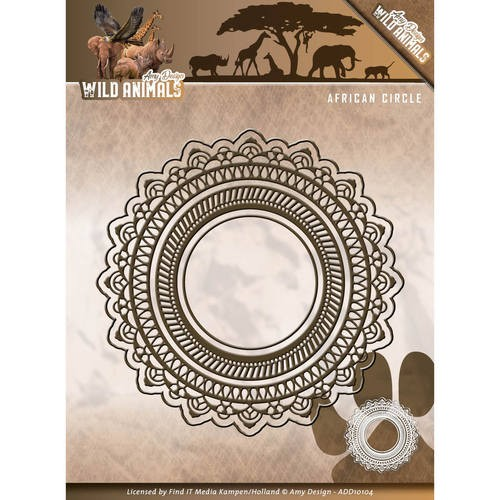 Amy Design: Wild Animals; Die, African Circle