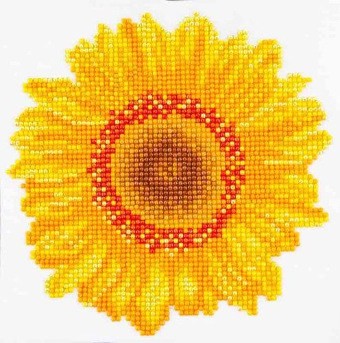 Diamond Dotz: 20 x 20 cm; Happy Day Sunflower