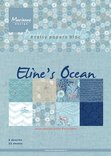 MD: Pretty papersbloc; Eline`s Ocean