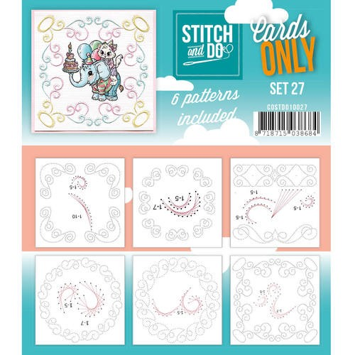 Stitch + Do: Cards Only; Set 27