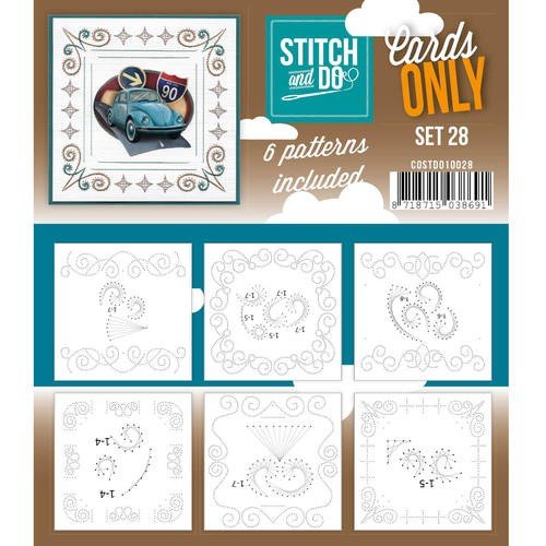 Stitch + Do: Cards Only; Set 28