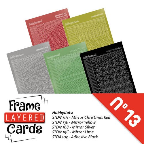 Frame Layered Cards 13 - Stickerset