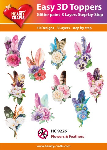 HC: Easy 3D; Flowers & Feathers