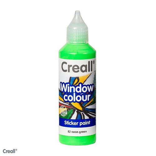 Creall Window: Neon Groen
