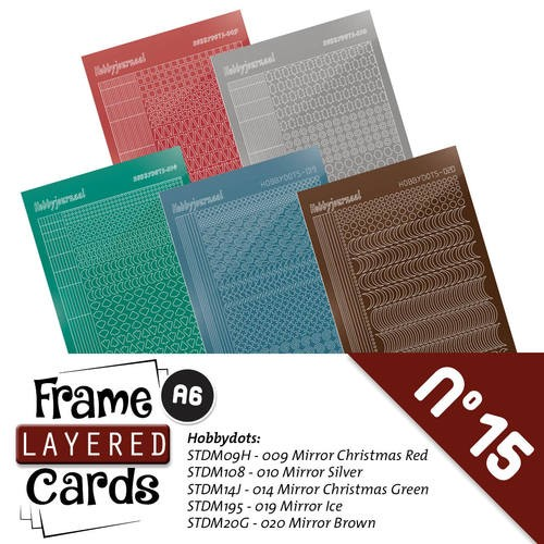 Frame Layered Cards 15: Stickerset