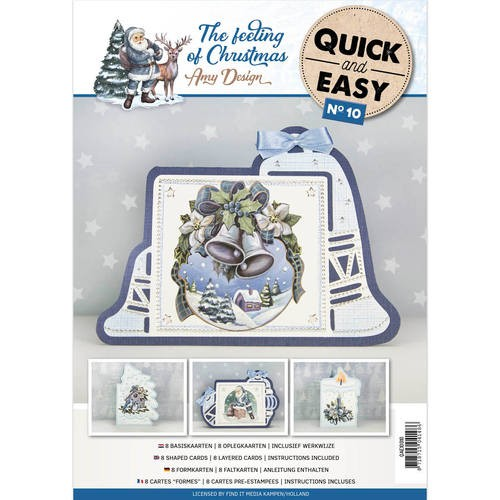Amy Design: The Feeling of Christmas; Quick and Easy 10
