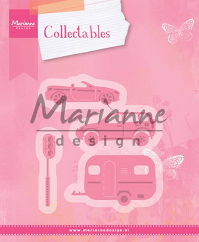 MD: Collectable 1435; Village decoration set 3 (Cars)