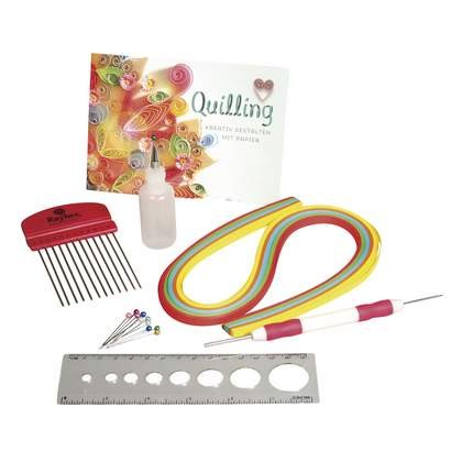 Rayher: Quilling Starter Set, PVC-box