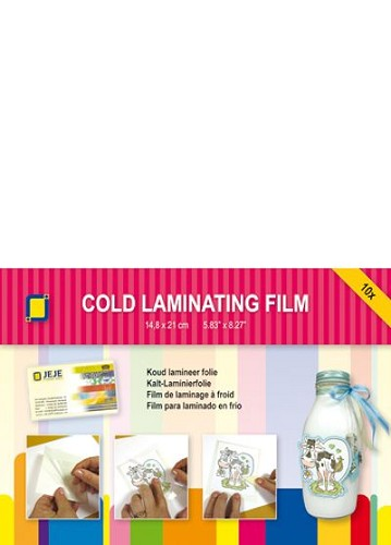 JeJe: Cold laminating Foil A5 (10 sheets)