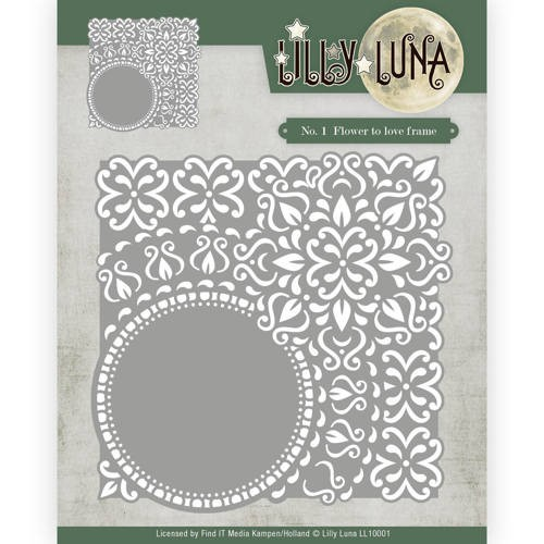 CD: Lilly Luna; Die - Flowers to love frame
