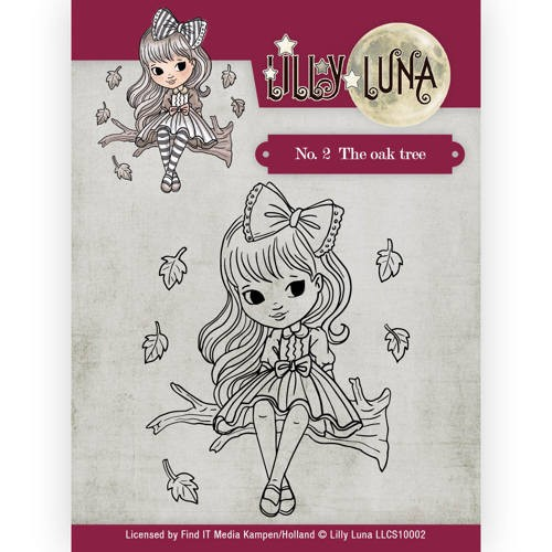 CD: Lilly Luna; Clearstamp - The Oak Tree