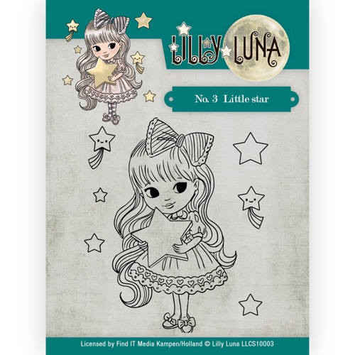 CD: Lilly Luna; Clearstamp - Little Star