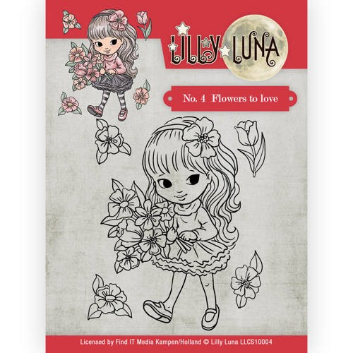 CD: Lilly Luna; Clearstamp - Flowers to Love