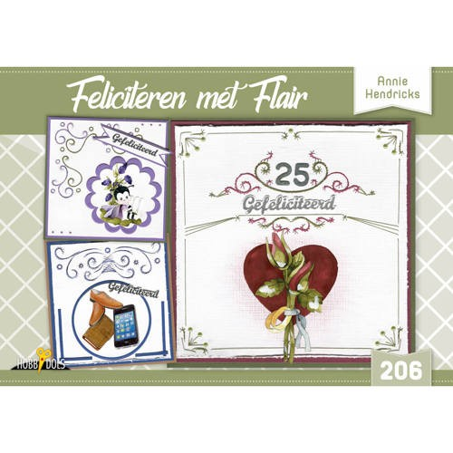 Hobbydols 206: Feliciteren met Flair