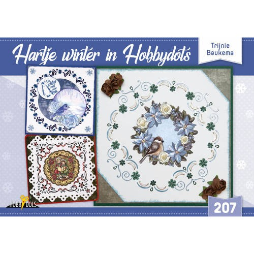 Hobbydols 207: Hartje winter in Hobbydots