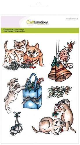 CE: Clearstamp A5; Christmas Pets 3