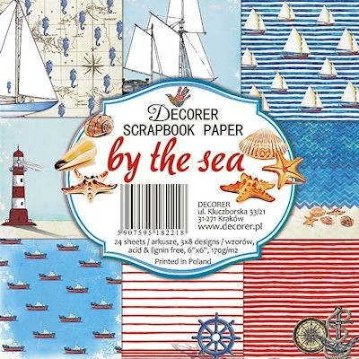 Decorer: Scrapbook paper; By the Sea