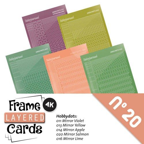 Frame Layerd Cards 20: STICKERSET