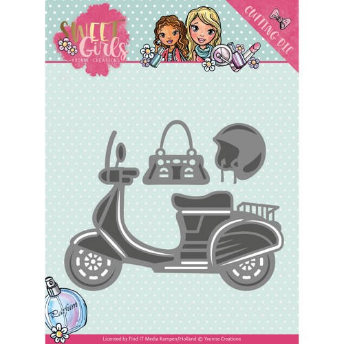 Yvonne Creations: Sweet Girls; Die - Scooter