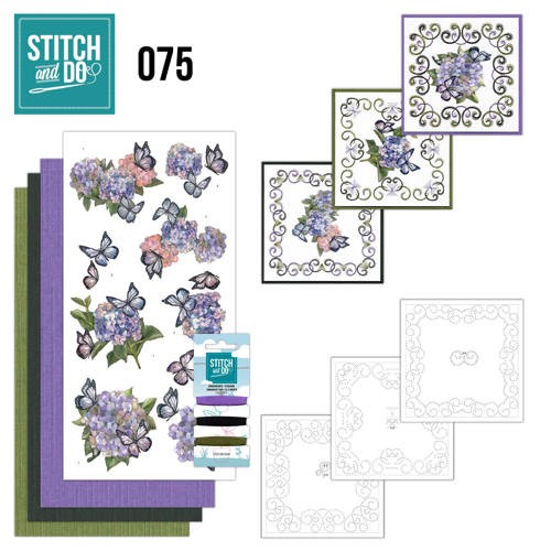 Stitch and Do 75: AD - Hortensia