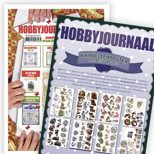 Hobbyjournaal 154 met Poster the best of 2017