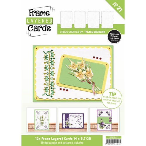 Frame Layerd Cards 21: A6 - Hobbydots