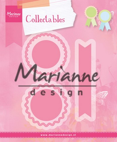 MD: Collectable 1444; Rosettes and Labels