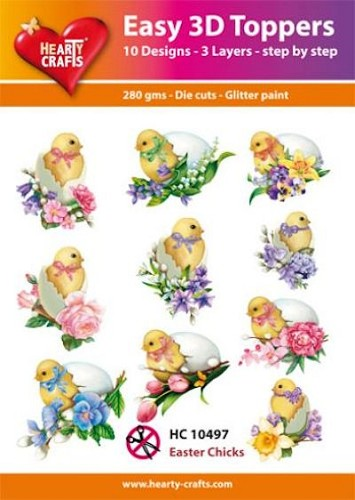 HC: Easy 3D; Easter Chicks